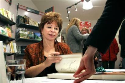 Isabel Allende og Jonthan Løw